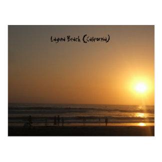 Post Card  Laguna Beach (California)
