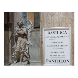 Post Card--Pantheon Entrance Postcard