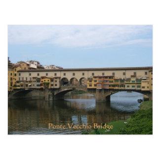 Post Card--Ponte Vecchio Bridge Postcard