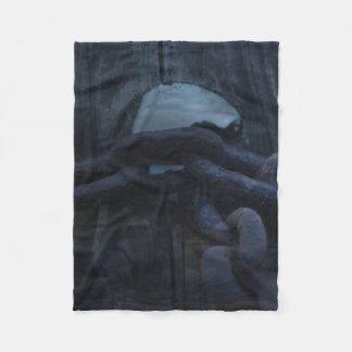 Post & Chain Small Fleece Blanket