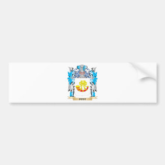 Post Coat of Arms - Family Crest Bumper Stickers