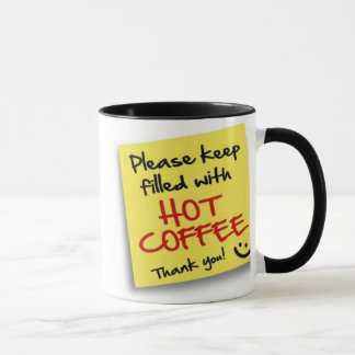 Post HOT COFFEE - mug