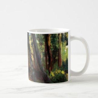 Post impressionist art Pissarro small bridge Coffee Mug