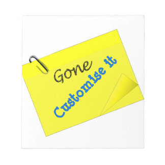 Post it humor funny yellow sticky notepads