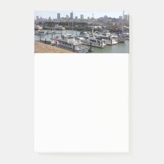 Post-It Notes Nautical San Francisco Bay
