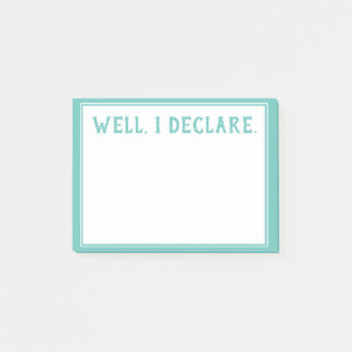 Post It Notes Notepad - Southern Sayings (WID)
