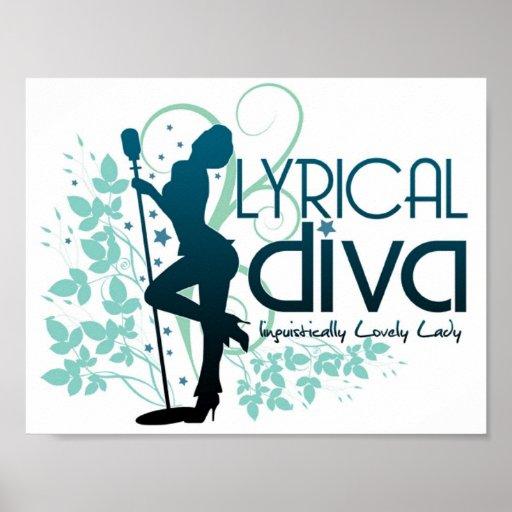 Post It Up (Lyrical Divas) Print