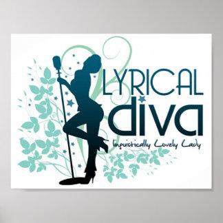 Post It Up Lyrical Divas Print
