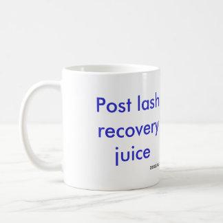 Post lash recovery juice coffee mug