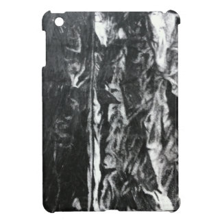 Post modern distressed plastic effect in grey case for the iPad mini