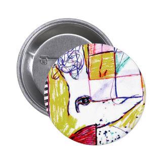Post Moderne Mundi 6 Cm Round Badge