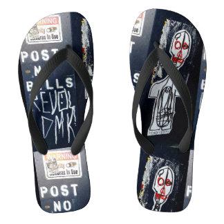 Post No Bills Flip Flops