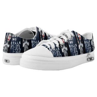 Post No Bills Low Top Shoes