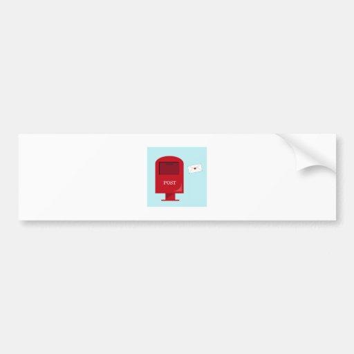 Post Office Box Bumper Stickers