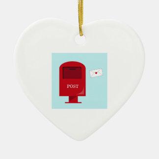 Post Office Box Ornament