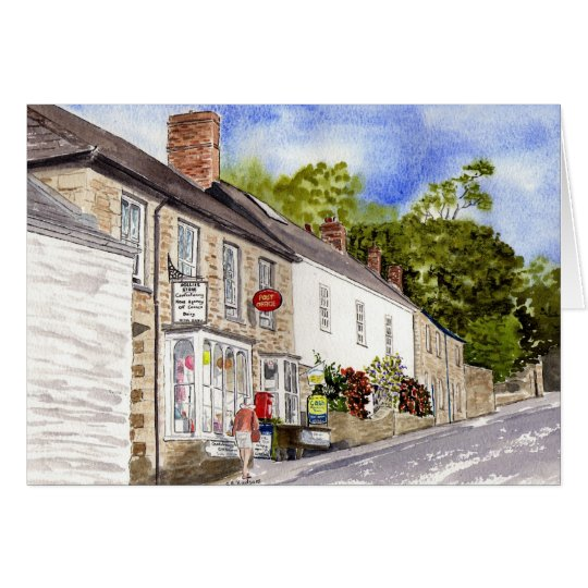 'Post Office (Grampound)' Card