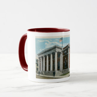 Post Office, Greensburg, Pennsylvania Vintage Mug