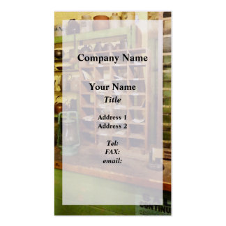 Post Office In General Store Pack Of Standard Business Cards