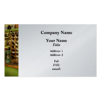 Post Office in General Store - Platinum Pack Of Standard Business Cards