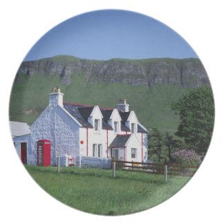 Post Office, Linicro, Isle of Skye, Highlands, Dinner Plates