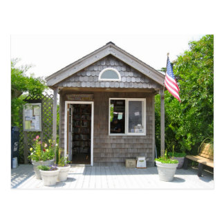 Post Office on Fire Island Postcard