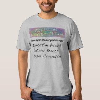 Post-Partisan U.S. Constitution Tshirts