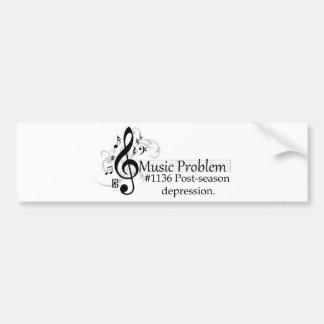 Post-season depression. bumper stickers