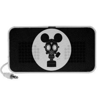 Post World Zuno : Gas Mask 01 Mini Speaker