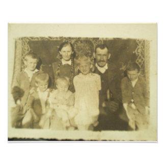 Post WWII Bosnian family Photo Art
