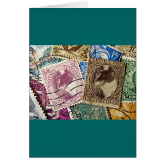 Postage Stamp Lucy Greeting Card