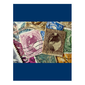 Postage Stamp Lucy Postcard