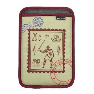 Postage Stamp Medieval Knight Sleeve Sleeve For iPad Mini