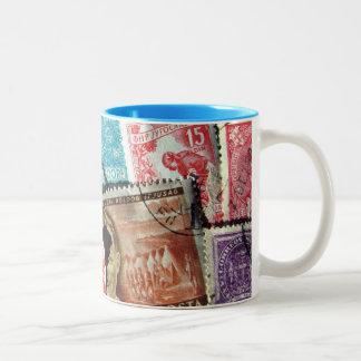 Postage Stamps Mug