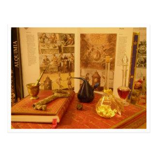 Postal Alchemy Postcard