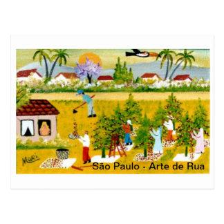 Postal card Brazilian Art