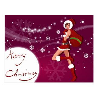 """Postal card """"Merry Christmas """" Postcard"""