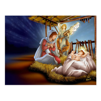 Postal card of Christmas Postcard