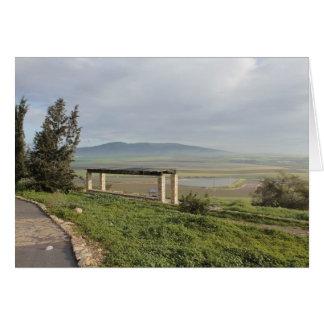 Postal card of Vale de Jezreel