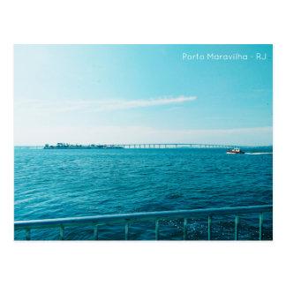 Postal card - port wonder