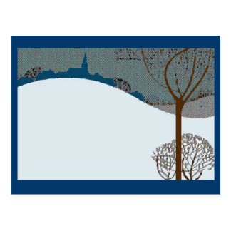 postal card postcard