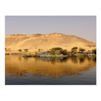 Postal card Rio Nile, Egypt Postcard