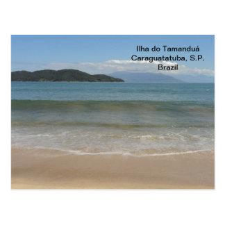 postal cards of islands postcard