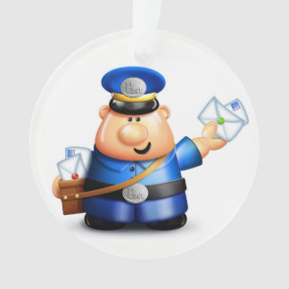 Postal Carrier - Mailman Ornament