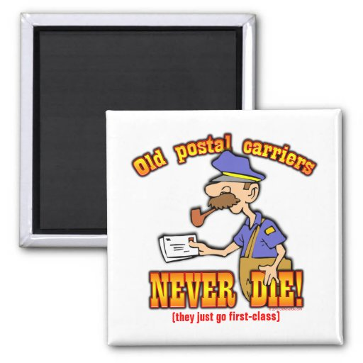 Postal Carriers Fridge Magnets