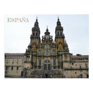 postal Cathedral of Santiago de Compostela Postcard