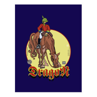 Postal Dragoon Sketcher Postcard
