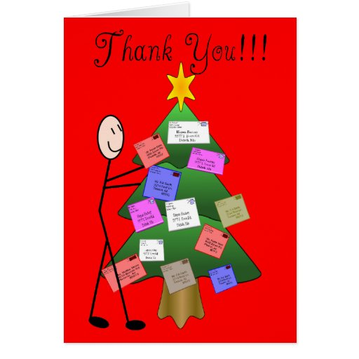 Postal Letter Carrier Thank You Cards