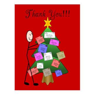 Postal Letter Carrier Thank You Cards Postcard