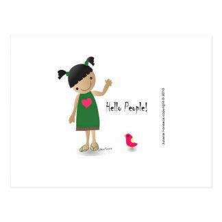 Postal Lully Postcard