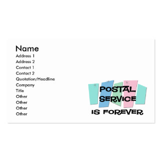 Postal Service Is Forever Business Cards